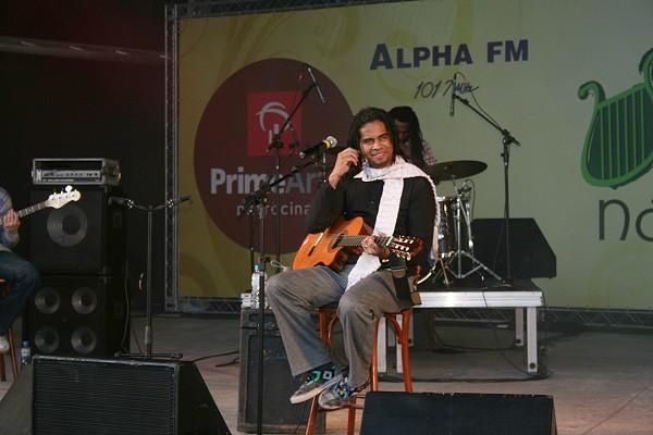 Apresentação de Jair Oliveira na Concha Acústica
