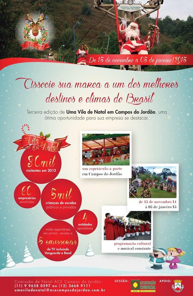3ª Edição da Vila de Natal em Campos do Jordão - Guia de ...