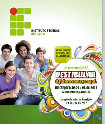 Instituto Federal - Vestibular 2012 - Segundo Semestre