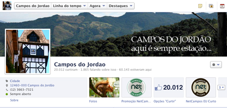Facebook Campos do Jordão