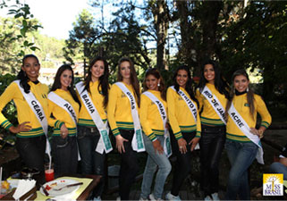 Misses Visitam Campos do Jordão