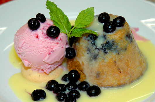 Petit Gateau de Blue Berry